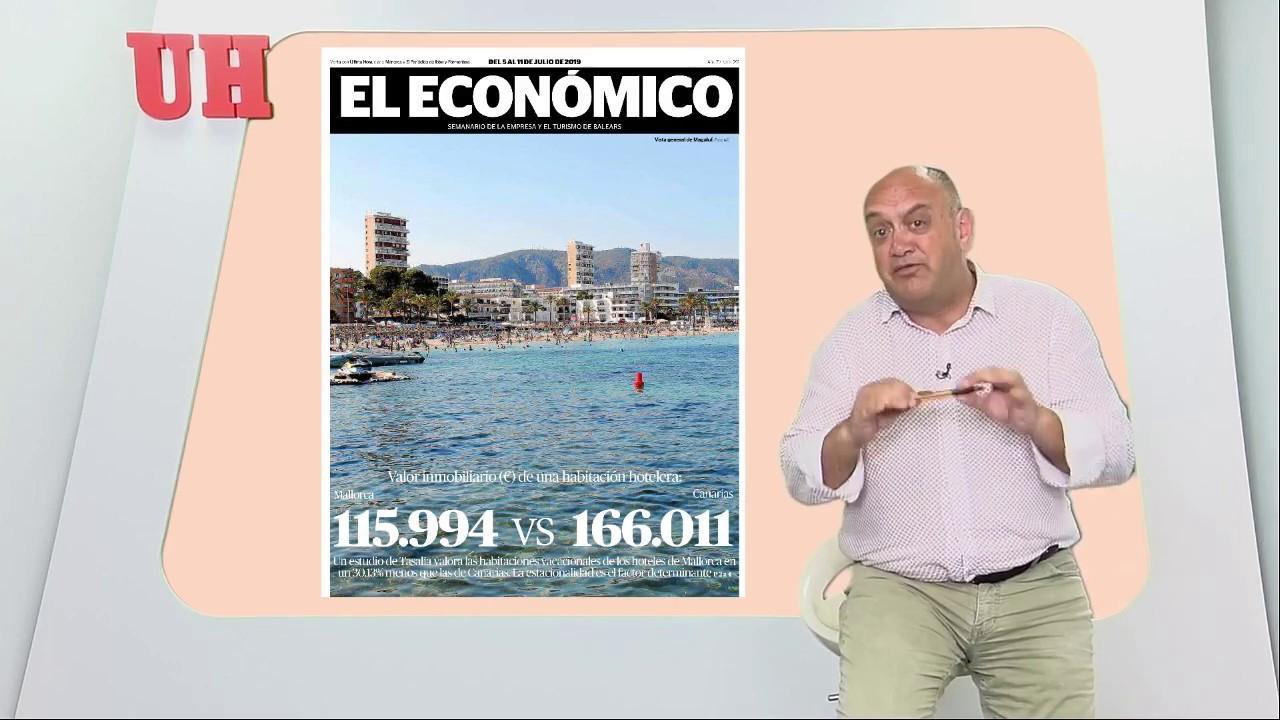 La estacionalidad resta valor a los hoteles de Mallorca frente a los de Canarias