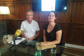 Jaume Garau y Carlota Cabeza.