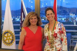 Denise Klischan, nueva presidenta del Rotary Club de Ibiza