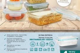 Consigue con Periódico de Ibiza y Formentera la colección de recipientes herméticos firmados por Frescho