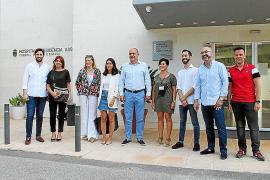 Vicent Marí y sus consellers visitan varias dependencias insulares el primer día de trabajo