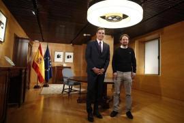 Sánchez confía en la amenaza de la repetición electoral para que Iglesias ceda
