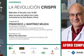 'La revolución CRISPR', una conferencia del doctor Francisco J. Martínez Mojica en Palma
