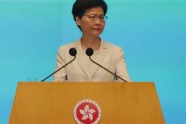 """La líder de Hong Kong asegura que el proyecto de ley de extradición """"está muerto"""""""