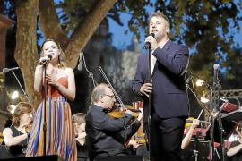 Lydia Fairen y Gerónimo Rauch, en el concierto que la Simfònica ofreció el pasado junio en el Born