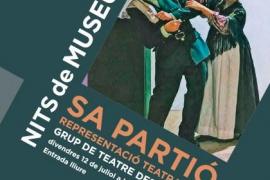 El Grup de Teatre Es Cubells presenta el viernes 'Sa Partió' en el Museo Etnogràfic d'Eivissa