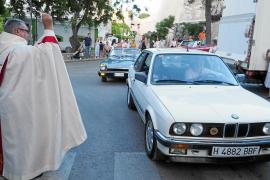 El barrio de sa Capelleta homenajea a Sant Cristòfol en un día cargado de tradiciones