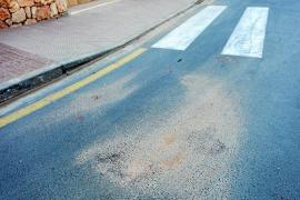 Una vecina de Santa Eulària muere al ser arrollada con su bicicleta por un autobús