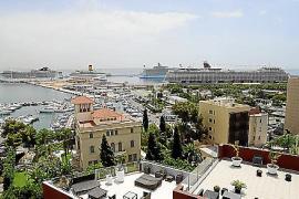 Cuatro cruceros en Palma