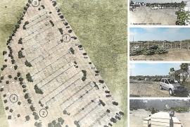 Una empresa proyecta un aparcamiento regulado para 417 coches en Platges de Comte