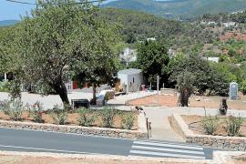 Finalizan las obras de reforma de la Font de Peralta en Sant Carles