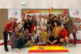 La Academia Davinia Van Praag regresa de Braga con un oro y tres bronces
