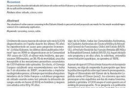 Artículo sobre el cáncer de colon
