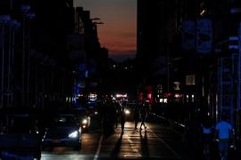 Times Square sin luz