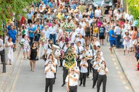 Grandes honores a la patrona de los marineros en Portinatx