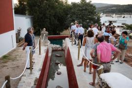 Sant Carles luce con orgullo sa Font de Peralta tras sus obras de reforma
