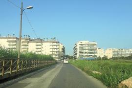 Denuncian el abandono del barrio de ses Figueres y Talamanca