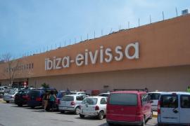 Vista del aeropuerto de Ibiza