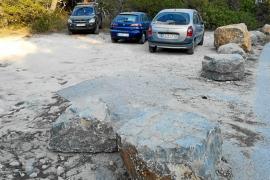 Nuevo aparcamiento en Cala Bassa