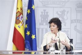 Celaá insta a Iglesias a retirar la consulta para recomponer la negociación con el PSOE