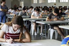 El 61,5 % de los alumnos de Baleares aprueban la selectividad en julio