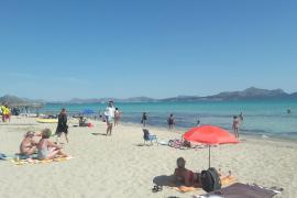 Fallece un hombre en la playa de Can Picafort