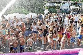 No hay mayor diversión que una buena fiesta del agua