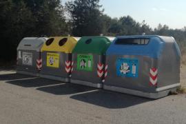 Sant Josep refuerza el reciclaje con nuevos puntos de recogida selectiva