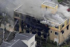 El sospechoso de provocar un incendio en un estudio de anime de Japón habría planeado el ataque por un presunto plagio