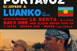 Desde Chile, Portavoz y Luanko recalan en concierto en Casa Planas
