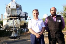Conferencia aniversario del Apolo XI en el Mallorca Planetari