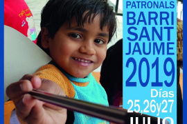 La Asociación de Vecinos de Sant Jaume organiza un mercadillo en solidaridad con Dare Home