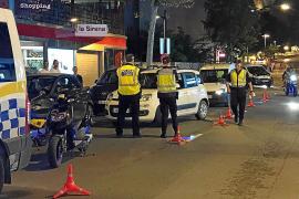 Un control policial en Ibiza denuncia a 14 conductores por positivos en drogas