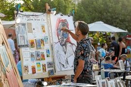 Las Dalias se convierte en mucho más que una galería de arte al aire libre