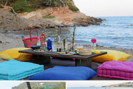 Dos empresas ofrecen pícnics en playas y espacios públicos de Ibiza