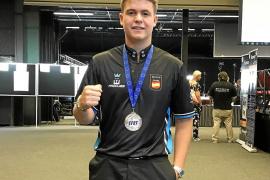 Jonás Souto, subcampeón de Europa