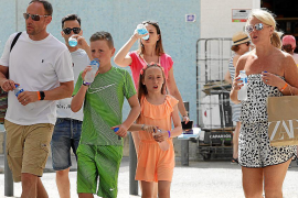 Continúa la alerta amarilla hoy por altas temperaturas en Ibiza y Formentera
