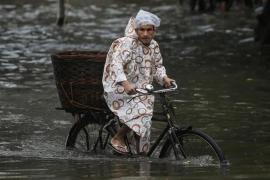 El monzón deja al menos 180 muertos en India, Nepal y Bangladesh