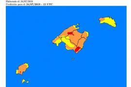 Ibiza en alerta naranja por riesgo de incendio