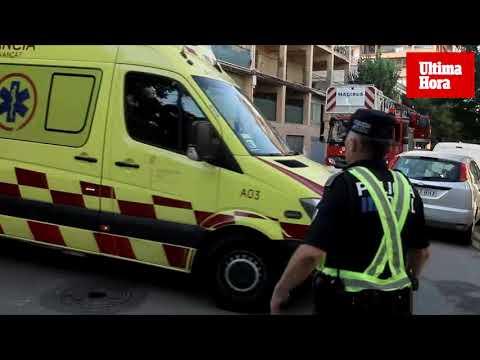 Una mujer muy grave y 14 afectados por un incendio en el Arenal