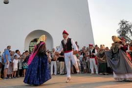Formentera celebra una Diada de Sant Jaume con tradición y mucha marcha