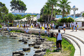 O Beach Ibiza limpia s'Arenal