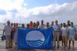 Seis playas del municipio de Santa Eulària obtienen la bandera azul