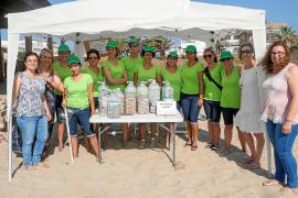 El programa SOIB 30 conciencia sobre reciclaje en Platja d'en Bossa
