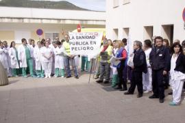 Más de un centenar de trabajadores de Can Misses dicen no  a los recortes
