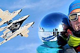 Jesús Calleja y Cuatro estudian viajar al espacio