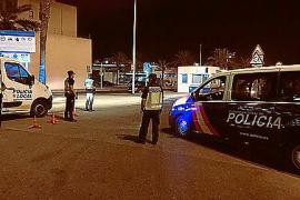 Denunciados 14 positivos en drogas o alcohol en un control conjunto en Ibiza