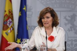 Calvo ofrece a Podemos que apoye al Gobierno socialista a cambio de un acuerdo programático