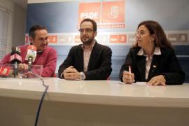 Antonio Hernando defiende la gestión de Tarrés «pese a los resultados electorales»