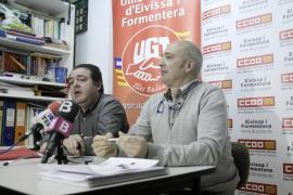 Los sindicatos llaman a la participación en la manifestación previa a la huelga general